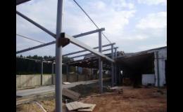 Výroba ocelových konstrukcí | Zámečnictví HSV Jičín