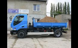 Doprava stavebního materiálu