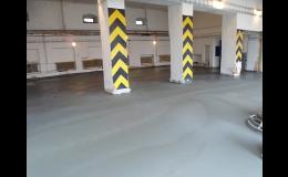 Lité betonové podlahy pro průmysl - Jiří Piňos, Plzeň