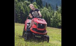 Zahradní žací traktory Seco Uherské Hradiště, Zlín