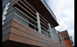 dřevěné fasády Thermowood Zlín