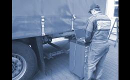 Diagnostika a slaďování brzdové soustavy nákladních vozidel Ostrava