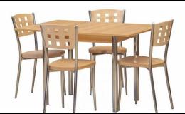 Jedinečné jídelní stoly a židle