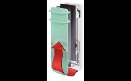 Sálavé panely Campaver s ventilací a akumulací tepla Frýdek - Místek
