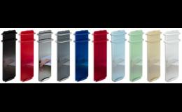 Barevné provedení sálavých koupelnových panelů Frýdek - Místek