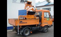 Nástavby na čištění kanalizací a fekální nástavby | SIMED s.r.o.