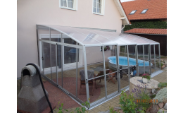 Profesionální zastřešení bazénu Praha