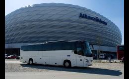 Mezinárodní a vnitrostátní autobusová doprava