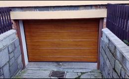 Sekční garážová a průmyslová vrata vrata Opava, Ostrava