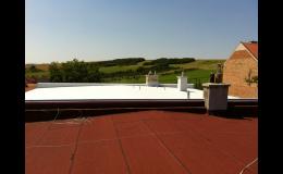 hydroizolace ploché střechy Uherské Hradiště