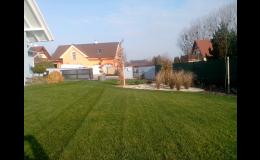 realizace rodinné zahrady Kroměříž