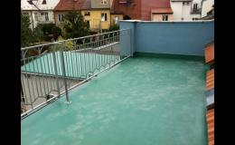 fóliové izolace terasy
