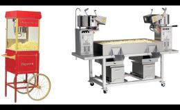 Stroje na výrobu popcornu - prodej, pronájem