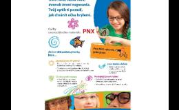 Brýlové čočky PNX z nerozbitného materiálu Krnov