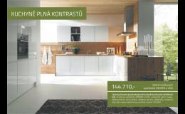 Designové kuchyně bez designových cen Ostrava