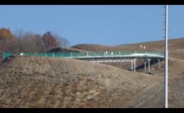 Korytová bobová dráha Hlubočky - jediná a nejdelší na Moravě