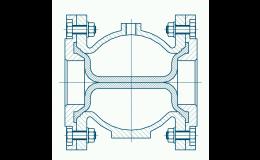 Manžeta pro hadicový ventil výkres
