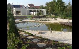 zahradní jezírka - vodní prvek v zahradě