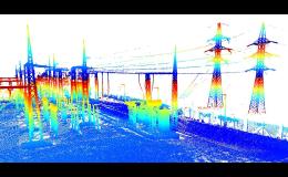 pozemní laserové skenování Brno