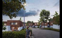 Stavba a prodej řadových domů Ostrava