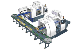 Výroba a prodej automatické výrobní linky Čelákovice - CNC obráběcí stroje