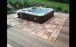 dřevěné podlahové čtverce Zlín