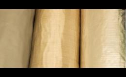 Laminieren der Vliesmatten, Beschichtung von Oberflächen der Glasfasermatten mit der Aluminiumfolie, Tschechien