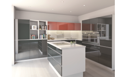 Acrylic furniture, T.acrylic kitchen doors in a new design, the Czech republic
