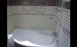 Realizace rekonstrukce koupelny Jeseník