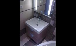Rekonstrukce koupelny Jeseník