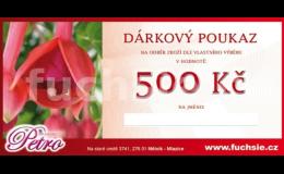 Dárkový poukaz - Zahradnictví Petro