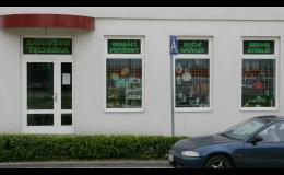 Prodejna zahradní techniky, zahradnických a domácích potřeb Napajedla
