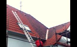 Čistění střechy chemickými prostředky Zlín