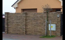 plotové stěny LUNA