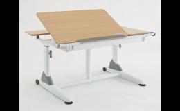Výškově stavitelné stoly s elektropohonem