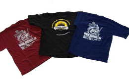 Czech printing of t-shirts and textiles from natural and artificial materials.