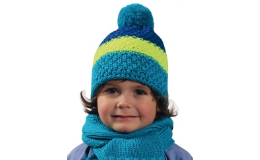 pletené čepice - dámské, dětské a pánské třebíč