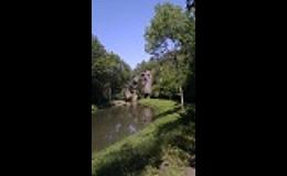 Horolezecká skála ve Středočeském kraji v obci Pašinka