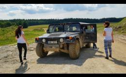 Jízda Hummerem na firemní akci Olomouc