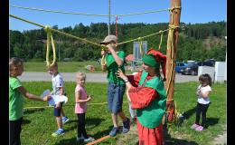 Lanové překážky pro děti Olomouc