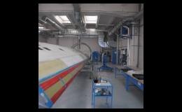 Industrielle Lüftungstechnik, Lufttechnik für Druckluftanlagen und Bäckereien Tschechien