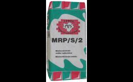 MRP/S/4 - sněhově bílá dekorativní rýhovaná omítka