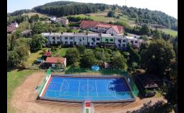 Umělý kazetový sportovní povrch Bergo