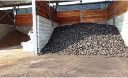Prodej suchého uhlí v zastřešeném skladu Opava