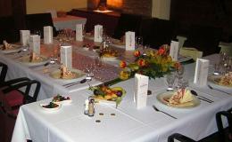 Svatební hostina v historickém centru Opavy