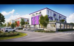 Nové bydlení v Jesenici u Prahy - Amadet - duhové byty již v prodeji!