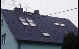 Rekonstrukce sedlové střechy Opava, Frýdek-Místek