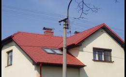 Rekonstrukce šikmé, ploché střechy Opava, Frýdek-Místek