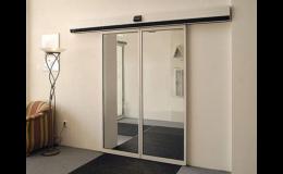 Turnikety - karuselové dveře a posuvné dveře výroba Kladno