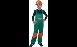 Dětské laclové kalhoty PINNOCHIO